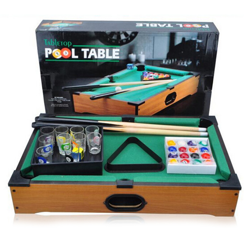 Exceptionnel Mini Table Balls 51*31*8.5cm Pool Table Billiards With Cups Home/Bar/Party  Board Game Drinking Games Indoor Table Game In Board Games From Sports ...