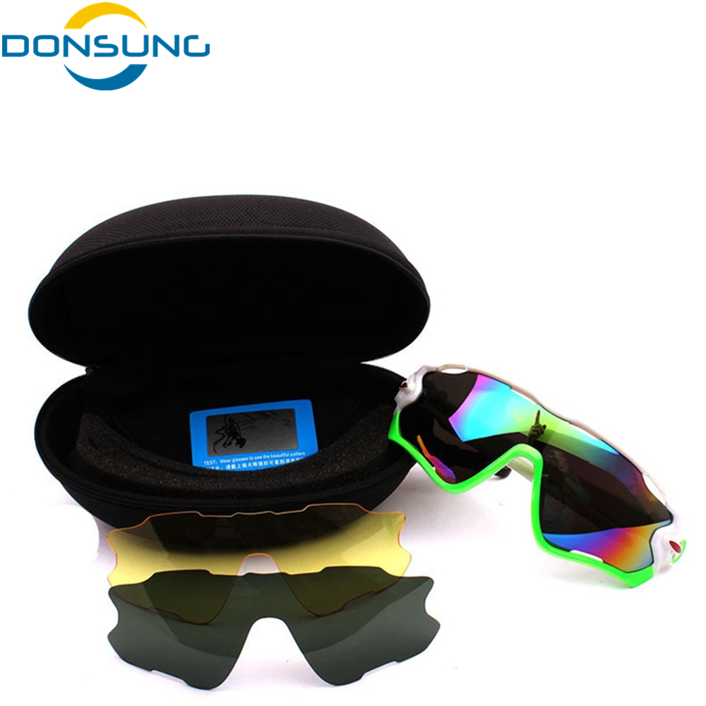 DONSUNG Polarized Photochromic Cycling Glasses Men Bike Glasses Outdoor Sports Bicycle Sunglasses Goggles Eyewear Myopia Frame