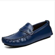 top quality new genuine real cow leather mens fashion business casual shoe breathable men shoes lh1789