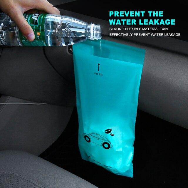 5PCS Waterproof Car Seat Back Storage Vehicle Car trunk organizer Biodegradable Rubbish Bag Car Accessories Truck Garbage Bags