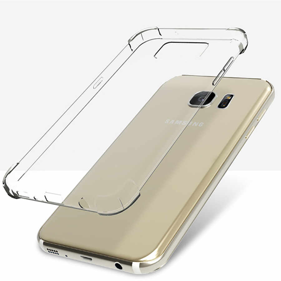 Anti-knock Phone Case for Samsung Note 9 8 5 4 S9 S8 A3 A5 A7 J3 J5 J7 Pro 2017 A6 A8 Plus 2018 Case Cover Full Protective Cases