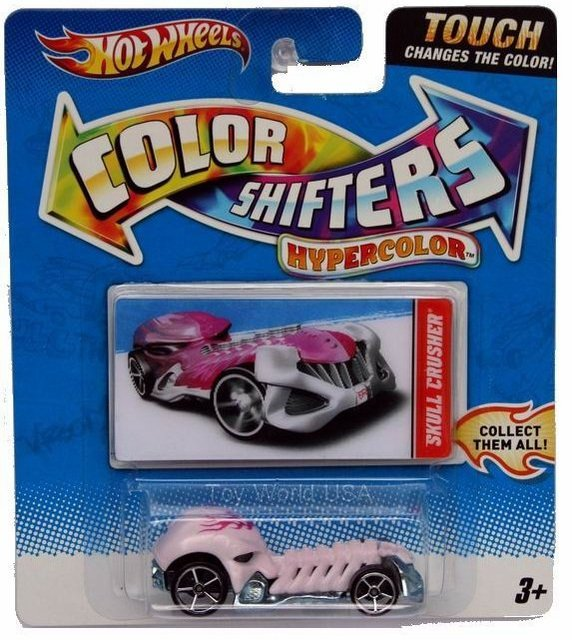 Hot Wheels Color Shifters Hypercolor Skull Crusher