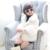 2016 de Invierno Nueva Chica de Moda Abrigo de Piel de Los Niños Ropa de Bebé Blanco Muchachas de la Capa Gruesa de Lana de piel Abrigo de Invierno Para 2-10 años de Muchacha