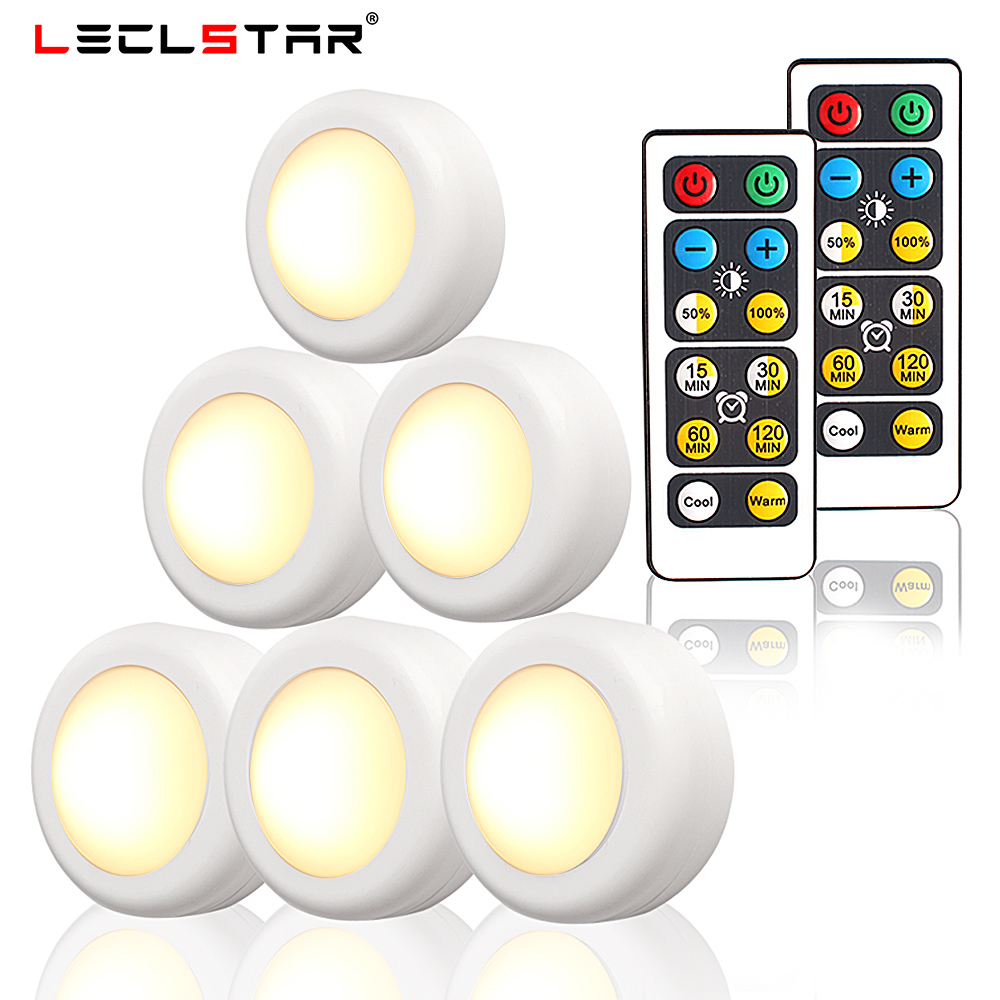 Warm White Touch Sensor LED Night Light With Remote Controller Wireless Dimmable LED Night Lamp For Children Kids Baby Room Lamp