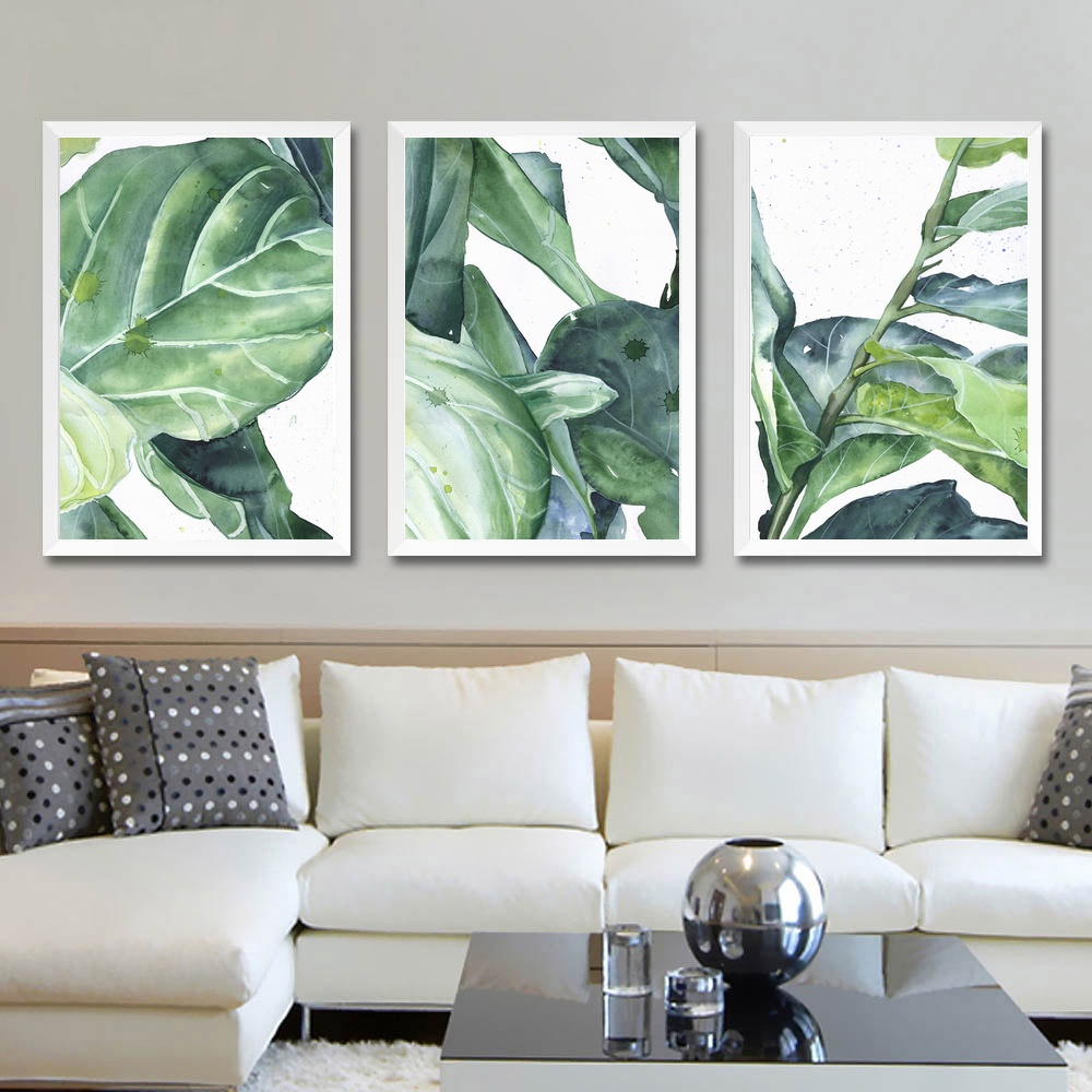Green Plants Pear Wall Art Paint Decor Canvas Prints Poster Oil Paintings No Frame In Painting Calligraphy From Home Garden On