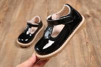 30pcs/lot DHL shipping Fashion kids shoes cute flat girls princess casual children shoes for patent leather princess shoe style