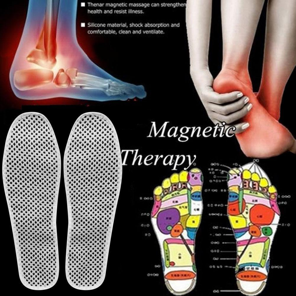 1Pair Self-heating Insoles Warm Reflexology Insoles Winter Soles For Footwear Insoles Heated Insoles Natural Tourmaline Massage