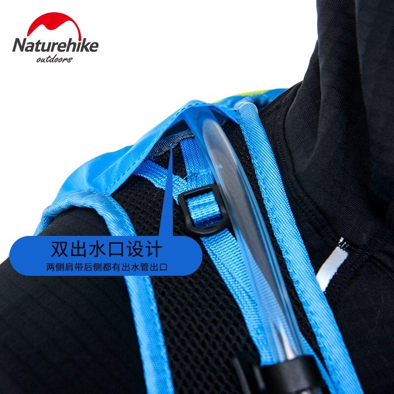 Naturehike Sac de Course En Plein Air Randonnée Trekking Lighweight Marathon Sac À Dos Près du Corps Tactique 12L NH70B067-B - 3