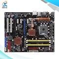 Para asus p5q pro original usado motherboard desktop para intel p45 atx socket lga 775 ddr2 16g sata2 usb2.0