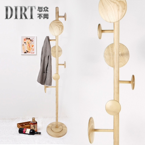 Fashion Wood Floor Coat Rack Ikea Clothes Rack Hanger