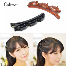 Fashion hairpin Styling Hair Braider Twist Clip Barrette Hair