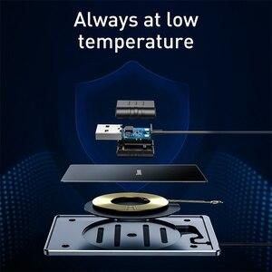 Image 5 - Baseus ultra cienka bezprzewodowa ładowarka do iPhone Xs Max XR 8 przenośna 15W szybka bezprzewodowa ładowarka do Huawei Mate 20 Pro P30 Pro