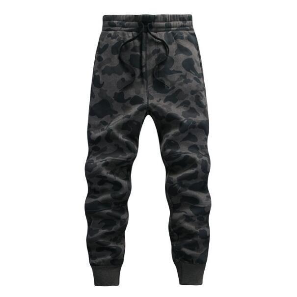 Corredores Hombres de camuflaje Camo Basculador Pantalones de Impresión Nuevo 2017 Lazo de La Cintura Elástica Masculino Camuflaje pantalones Deportivos Envío Gratis