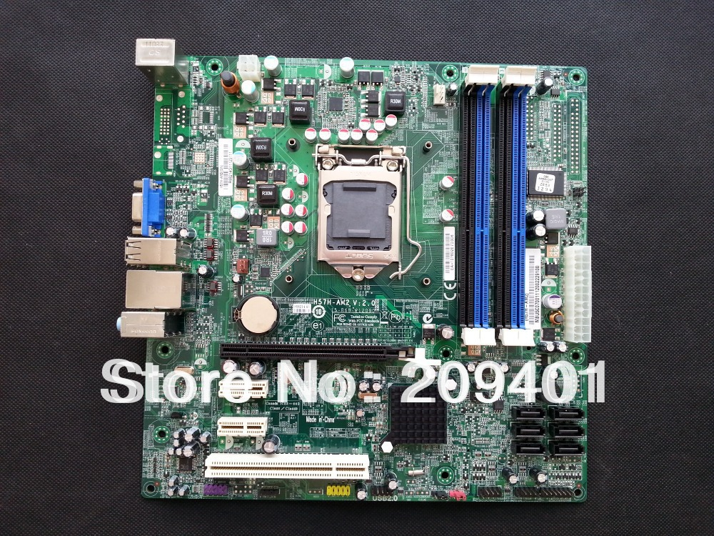 FOR ACER H57H-AM2 Mainboard Desktop Motherboard ddr3 Fully tested all functions Work Good