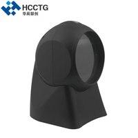 USB/RS232 CMOS Image Sensor 1D & 2D Desktop Barcode Scanner HS7301