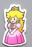 Nintendo Super Mario Bros магниты на холодильник стикер сообщений смешные девочки мальчики для малышей детей студентов игрушки подарок на день рождения - Цвет: Princess
