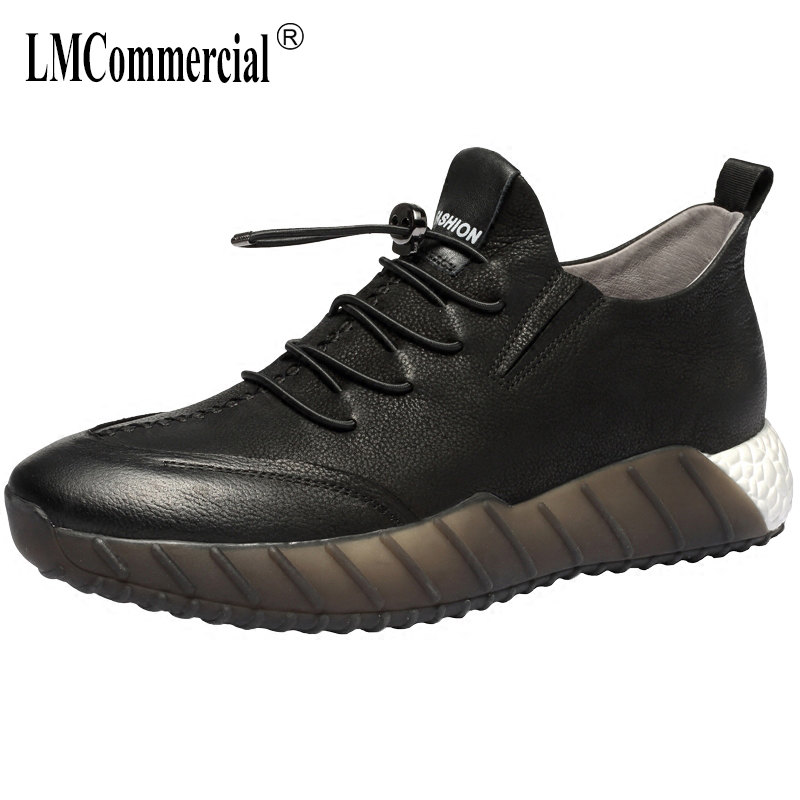 men's Genuine leather shoes breathable sneaker fashion boots men casual shoes spring autumn summer all-match cowhide British autumn winter european british retro men shoes male leather breathable sneaker fashion boots men casual shoes handmade fashion