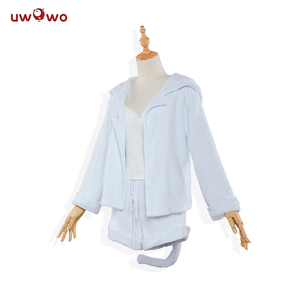 Image 2 - UWOWO Re:Life in a different world from zero Cosplay Rem Ram Sexy Cat Ear Ver Costume Women Anime Re zero Cosplay Pajamas