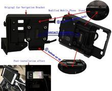 Cep telefonu navigasyon braketi USB telefon şarj için R1250GS ADV R1200GS LC macera 13 17 ithal IC çip