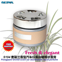 Car Accessories  Jasmine fragrant orchids car instrument desk aromatic  deodorant fragrance perfume S194  free shipping