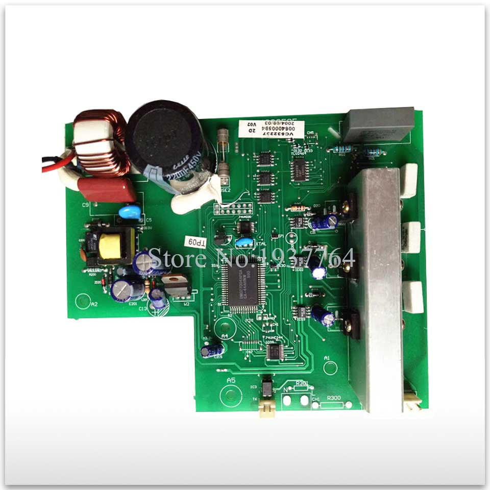 95% new for Haier refrigerator bcd-509wb 0064000594 inverter board control board pc board used 1pc used s inverter board a5e00296878 zl02