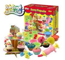 Бесплатная Доставка Play Doh Handgum 3D Play Тесто Пластилин Творческий Глины Для Обучения Мороженое Торт Игрушка