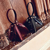Triangle Shape Clutch Women Evening Bag PU Leather Wristlet Purses Small Handbags Herald Fashion New Arrivals