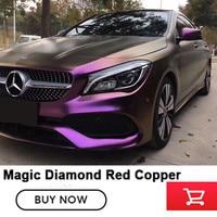 vinyl wraps Magic Diamond Red Copper Vinyl Quality assurance car vinyl wraps High end vinyl for 1 car Diamond Purple
