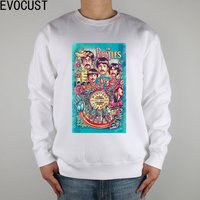 the beatles John Winston Lennon James Paul McCartney George Harrison Ringo Starr men Sweatshirts Thick Combed Cotton