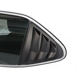 Dla Toyota Camry XV70 2017-2019 akcesoria samochodowe Auto boczne tylne okno migawki dekoracyjny pokrowiec akcesoria do wykończeń samochodowych