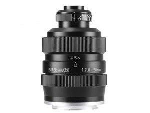 Image 3 - Mitakon Zhongyi 20mm f/2 4.5X סופר מאקרו עדשה עבור Canon EF EOS M ניקון F Sony E pentax K M4/3 Fujifilm X Sony Minolta הר