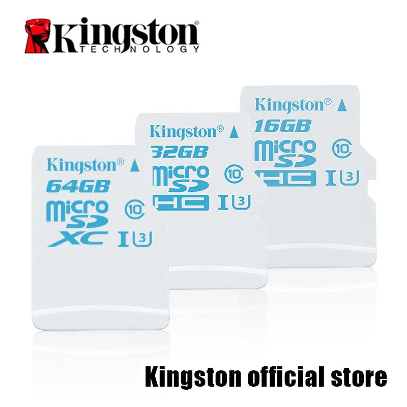 Kingston Micro SD карты Digital 16 ГБ 32 gbmicrosdhc uhs-i U3 карты действий, 90r/45 Вт (sdcac/16 ГБ/32 ГБ) ...