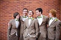 2017 Nieuwste Jas Broek Ontwerpen Bruin Trouwpak voor Mannen Losse Bruidsjonkers Kostuums Custom Made Smoking 2 Stuks Masculino S