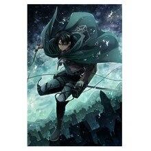 Обувь для косплея; аниме для косплея по аниме «атака на Титанов»(настенный плакат, картина плакат Косплэй украшение дома