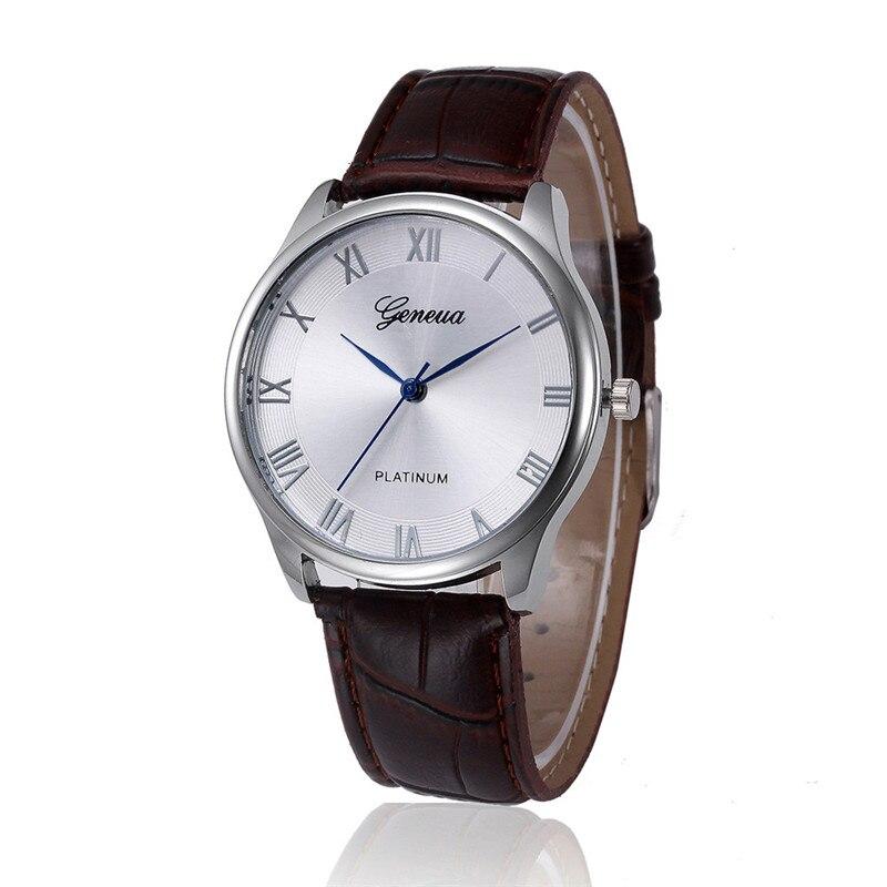 ab7168b62382 Nueva llegada relojes señoras reloj mujeres retro diseño cuero Band analog  Alloy cuarzo reloj casual señoras regalo perfecto