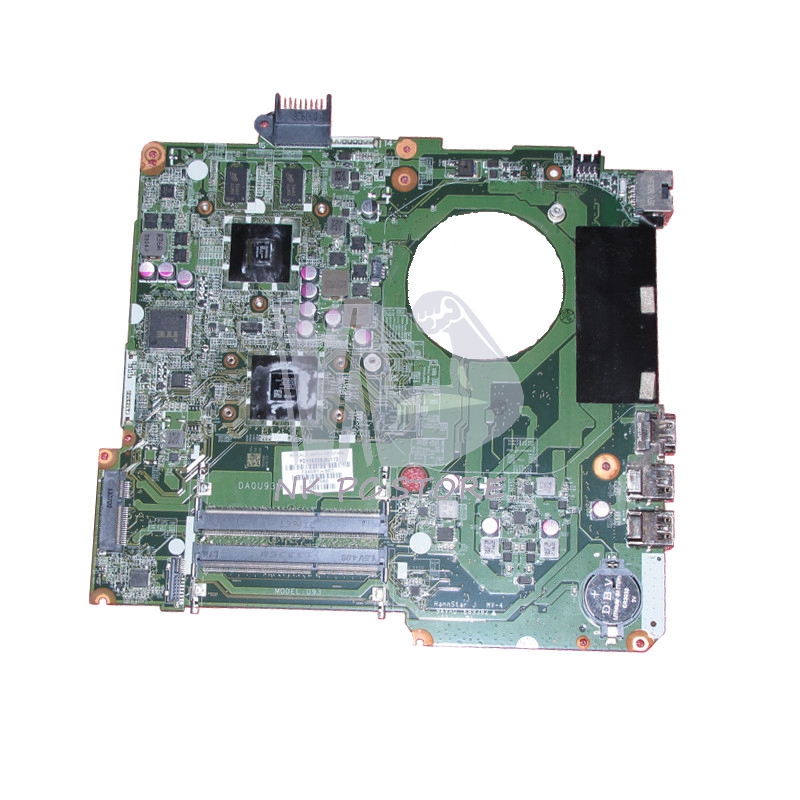 732096-001 734821-001 Notebook PC Motherboard For Hp Pavilion15 System Board Main Board DA0U93MB6D0 A6-5200 CPU DDR3 server system motherboard for dl320g5p ml310g5 450120 001 454510 001 original 95