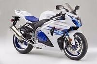 Gloss White w/ Blue ABS Full Body Injection Fairing Bodywork Kit for 2009 2015 Suzuki GSXR GSX R 1000 2014 2013 2012 GSXR1000