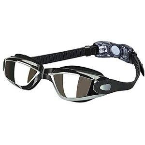 Новые Swiming очки для мужчин и женщин, плавательные Анти-противотуманные УФ силиконовые водонепроницаемые профессиональные конкурентоспосо...