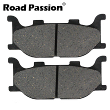 Road Passion Motorcycle Front Brake Pads For YAMAHA XVS 1300 V-Star Tourer De Luxe XVS1300 A ACFD Midnight Star цена