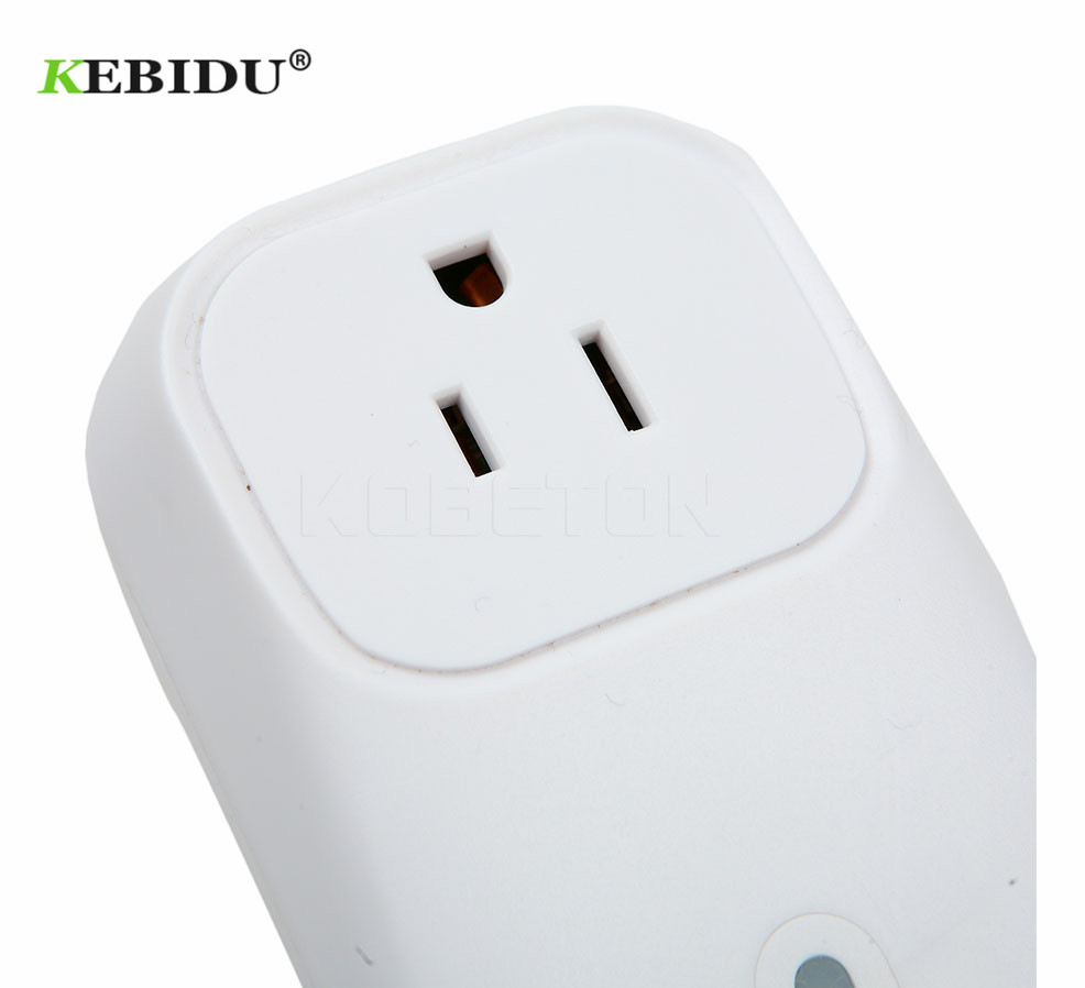 Consumer Electronics Chargers Kebidu Power Socket Remote Wifi Plug Timer Switch For Iphone For Xiaomi Android Interruptor Wifi Domotica Us/eu Plug