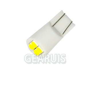 Image 3 - 100 T10 4 SMD 3030 LED 501 w5w 194 168 60MA wedges car interior instrument Reading Lights Luggage Car Door Light LED White