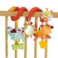 8 шаблоны симпатичные спираль активности коляска автокресло детская кроватка токарный висит ребенка играть туристические игрушки новорожденный ребенок погремушки детские игрушки новый