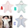 2016 carrinho de bebê saco de dormir em forma de estrela inverno quente grosso saco saco de dormir para recém-nascidos infantil bebe dormir slaapzak
