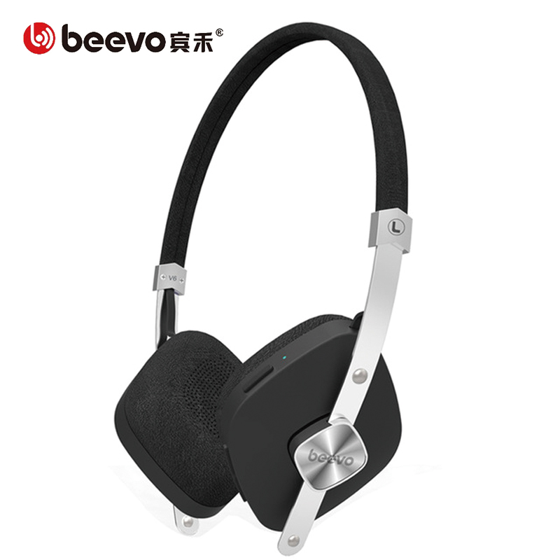 Beevo V6 Bluetooth Headphones Wireless Stereo Headphones Sports With Microphone Support Wireless Headphones For Mobile Phone Headphones Sport Wireless Stereo Headphonewireless Headphones Aliexpress