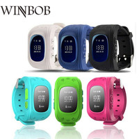 WINBOB Q50 Детские безопасности gps часы наручные часы SOS вызова Расположение Finder Locator Tracker анти потерянный монитор PK Q90 Q730 q80