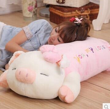 ФОТО Stuffed animal 75cm sweet pig plush toy
