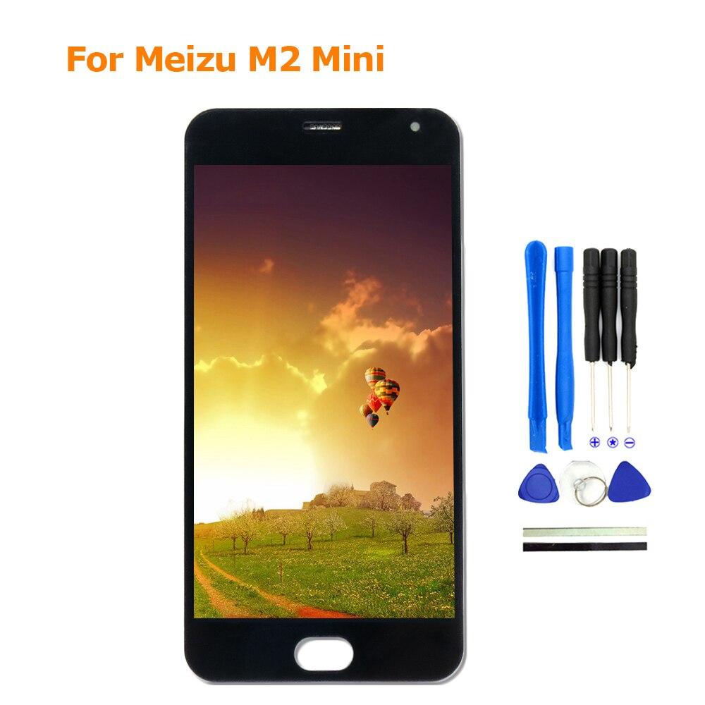 100% Nouveau Pour Meizu M2 Mini LCD Display + Digitizer Écran Tactile de Remplacement 5 Pouces Meiblue M2 Mini Téléphone Pièces avec des Outils Libres