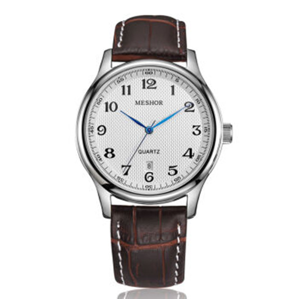 (MESHOR) fashion leisure steel watch with a quartz couples MS.5003M.17.169