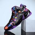 Летние кроссовки с резиновой подошвой  Баскетбольная обувь  Молодежные трендовые кроссовки  стильные легкие баскетбольные кроссовки