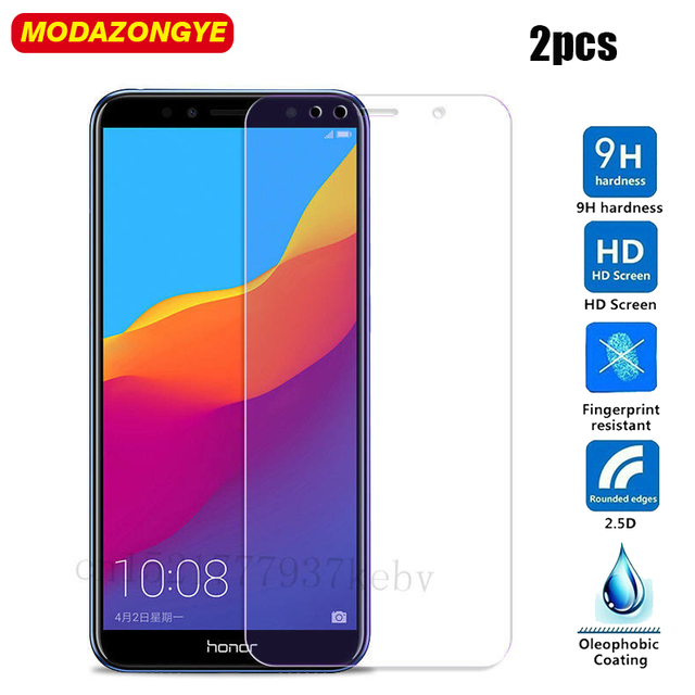 2Pc Tempered Glass Huawei Honor 7C Screen Protector Huawei Honor 7C AUM-L41 Glass Huawei Honor7C AUM-L41 Russian Version 5.7″